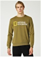 National Geographic Sweatshirt Haki